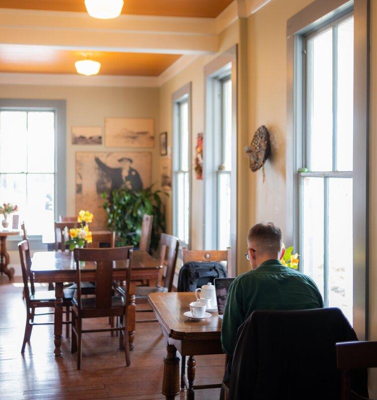 adelaides coffee interior