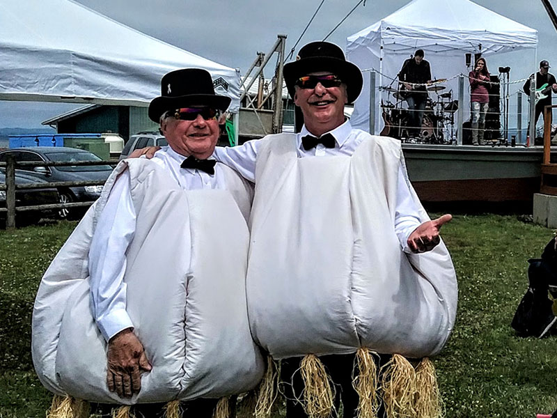 garlic festival costumes