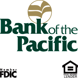 bank of the pacific square logo