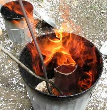 bay ave gallery fire bucket