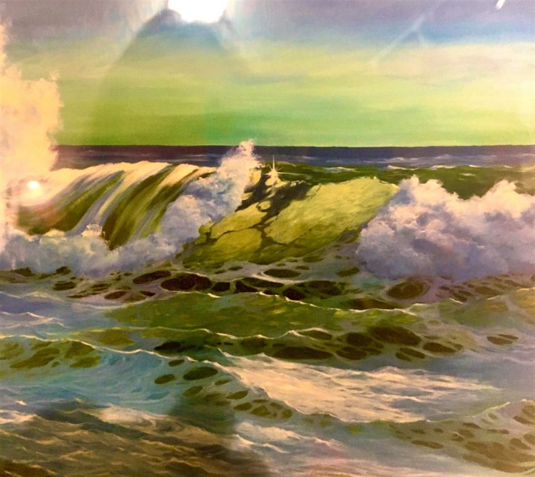 bay ave gallery waves