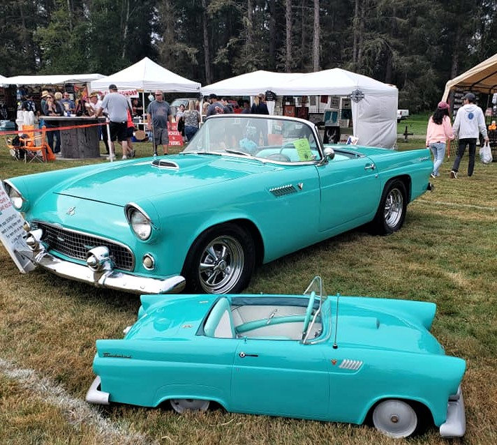 beach barons car club turquoise