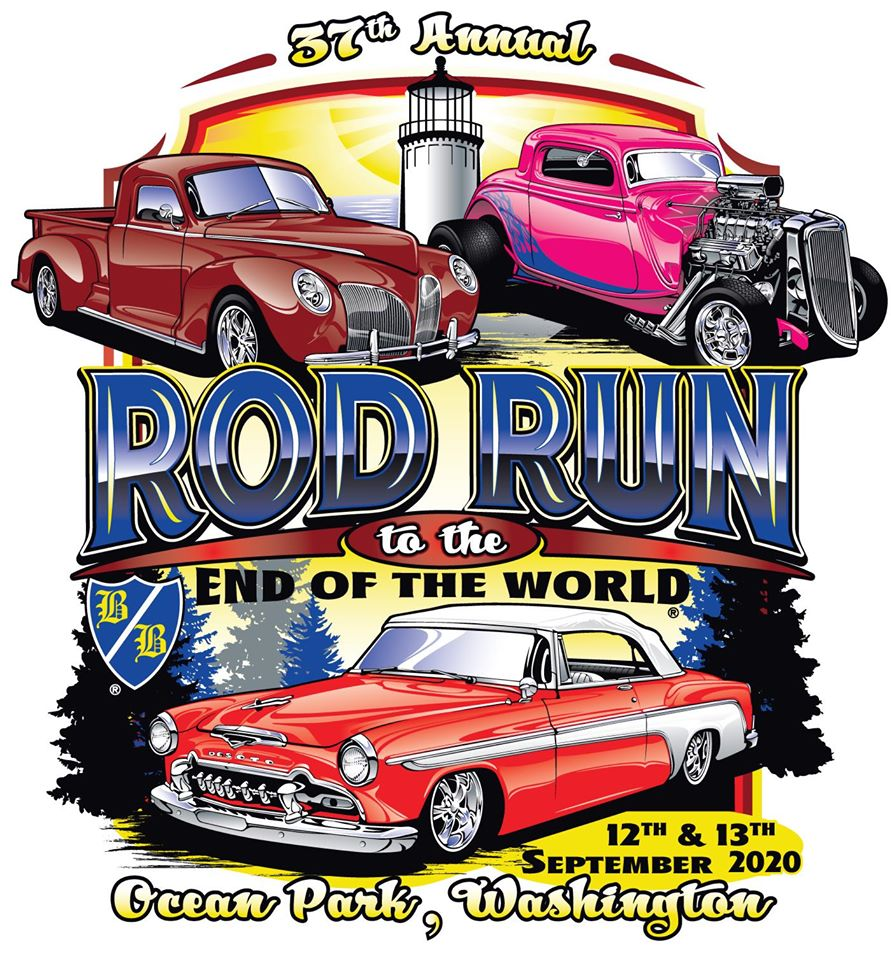 beach barons rod run poster 2020