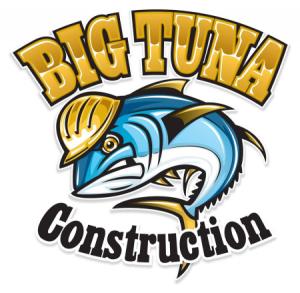 big tuna construction logo