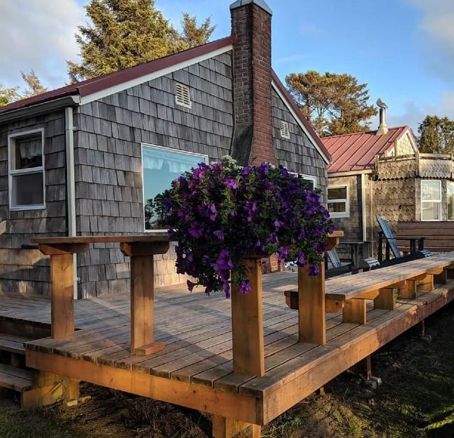 klipsan beach cottages deck