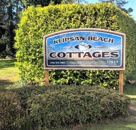 klipsan beach cottages sign