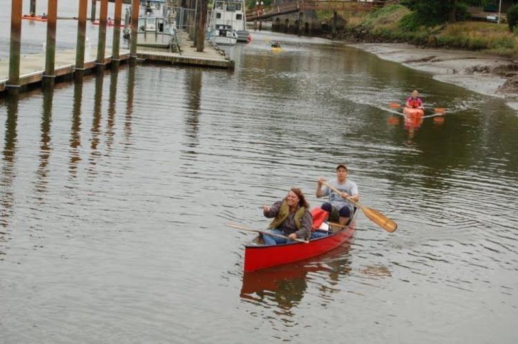 kayaking at willapa