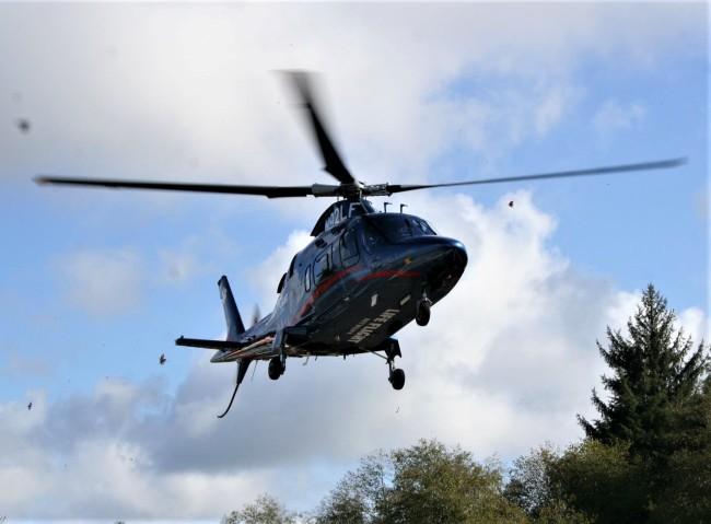 ocean beach hospital helicopter