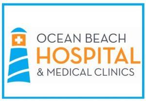 ocean beach hospital logo border