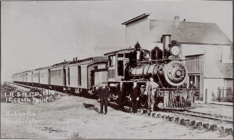 vintage nahcotta train