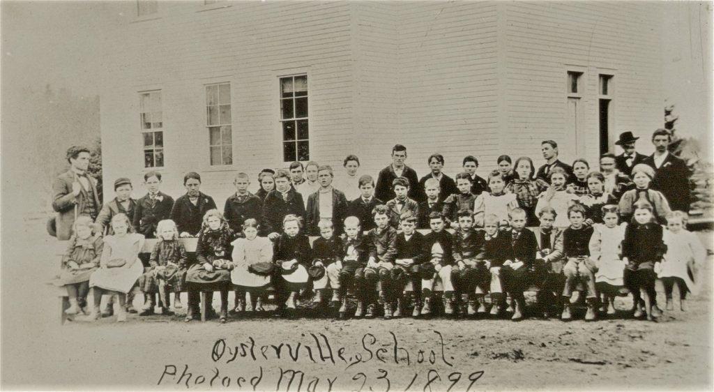 oysterville school vintage photo 1899