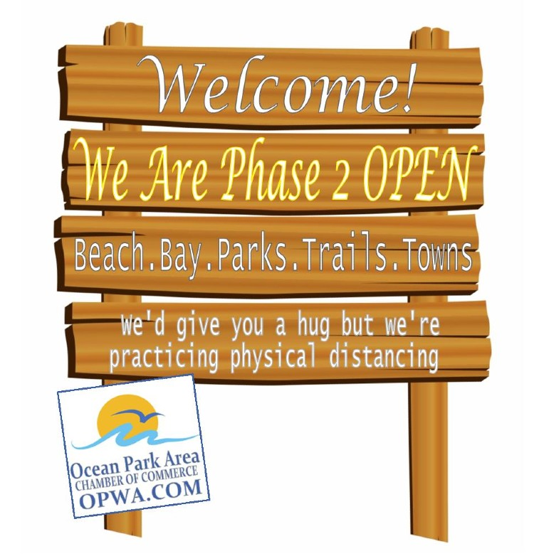 oceanpark welcome sign yellow