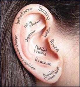 hearing aid center ear