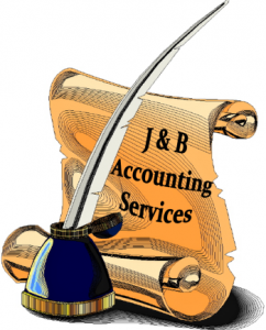 j & b accounting services button