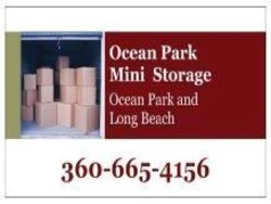 ocean park mini storage sign
