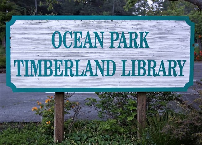 ocean park timberland sign