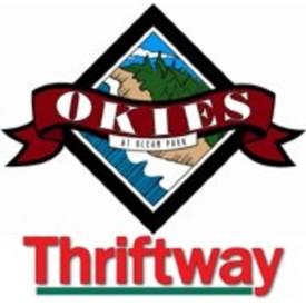 okies thriftway market logo