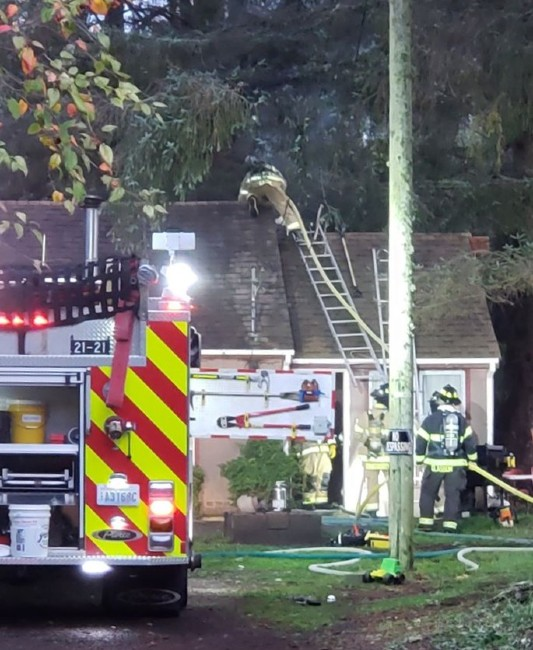 pacific county fire district 1 structure fire