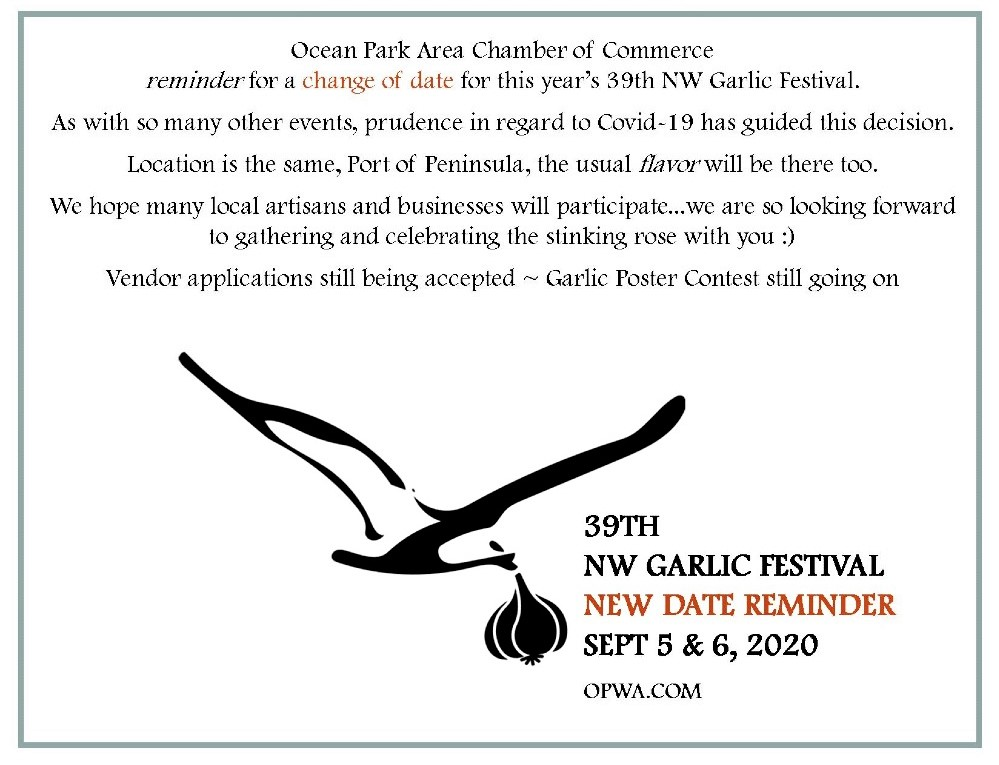 garlic festival new date reminder