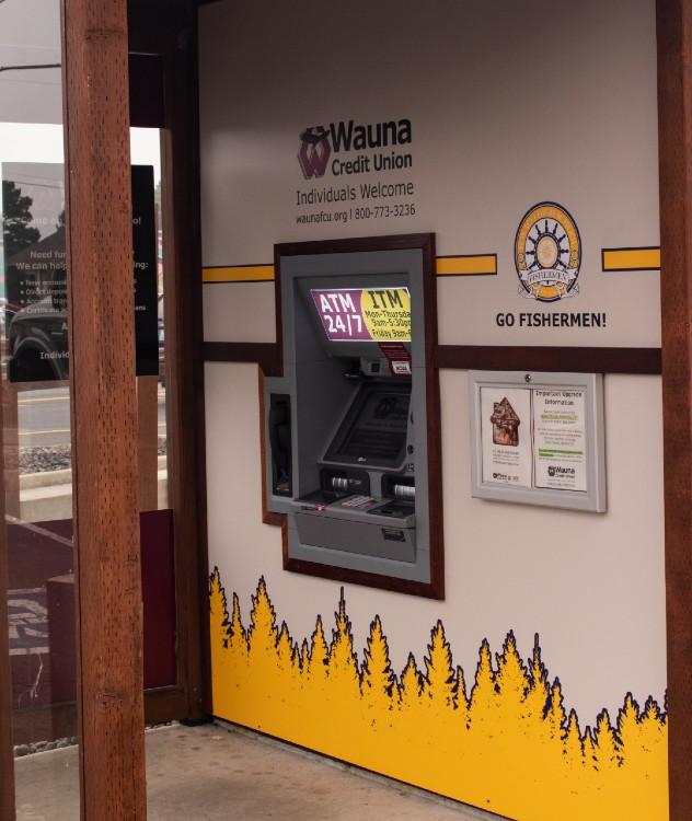 wauna credit union VTU-Kiosk