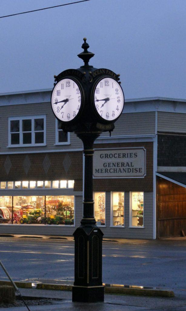 ocean park clock
