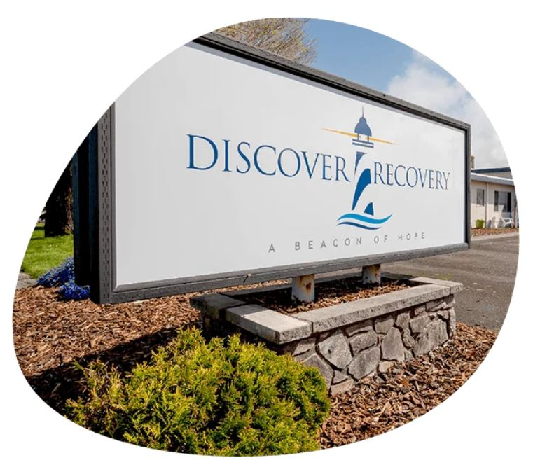 Discover Recovery Sign