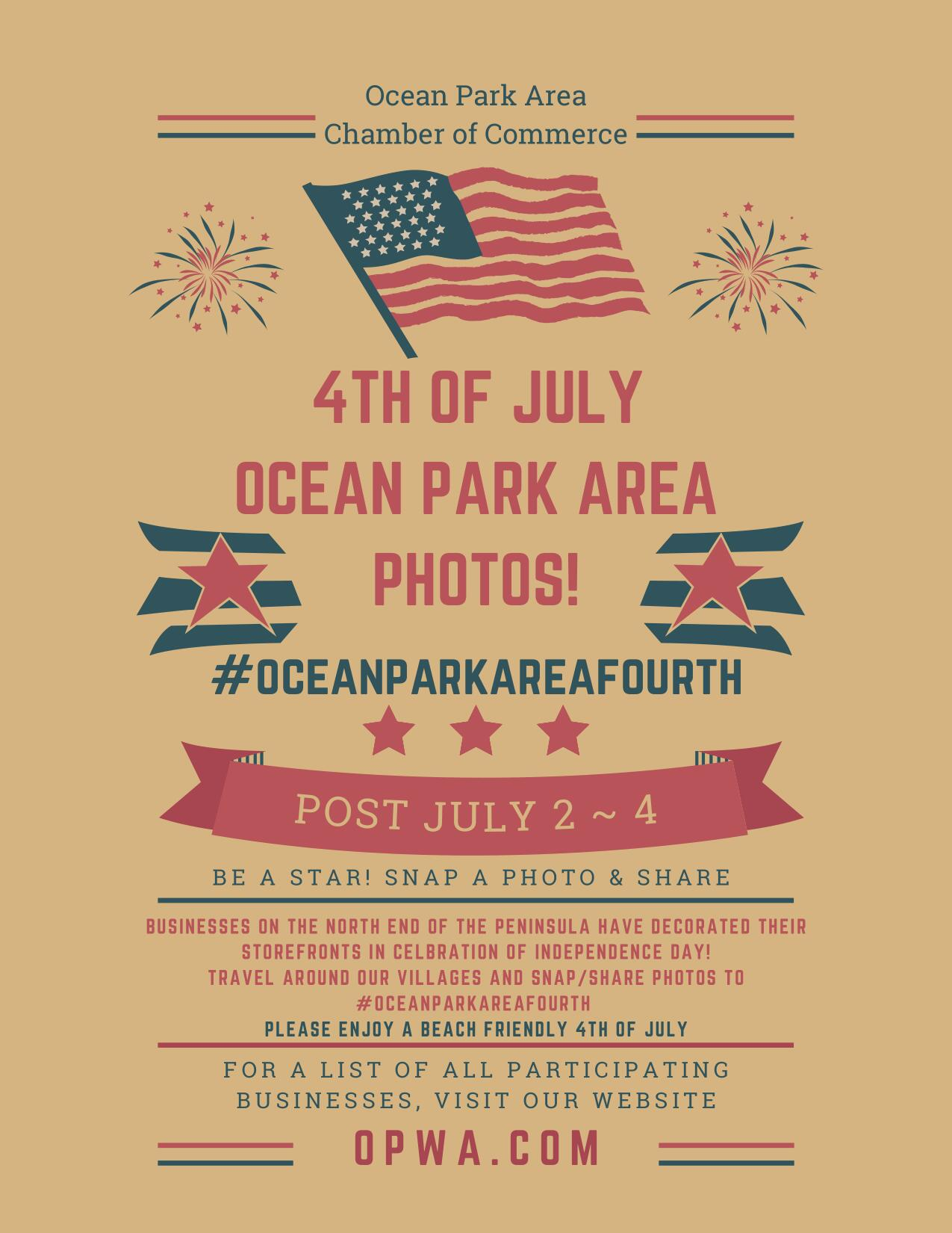4th of July Photos flyer