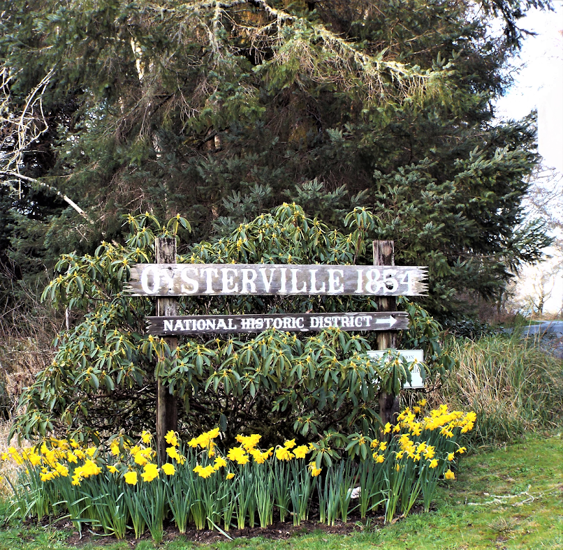 oysterville sign