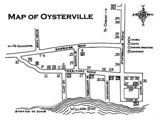 oysterville walking tour