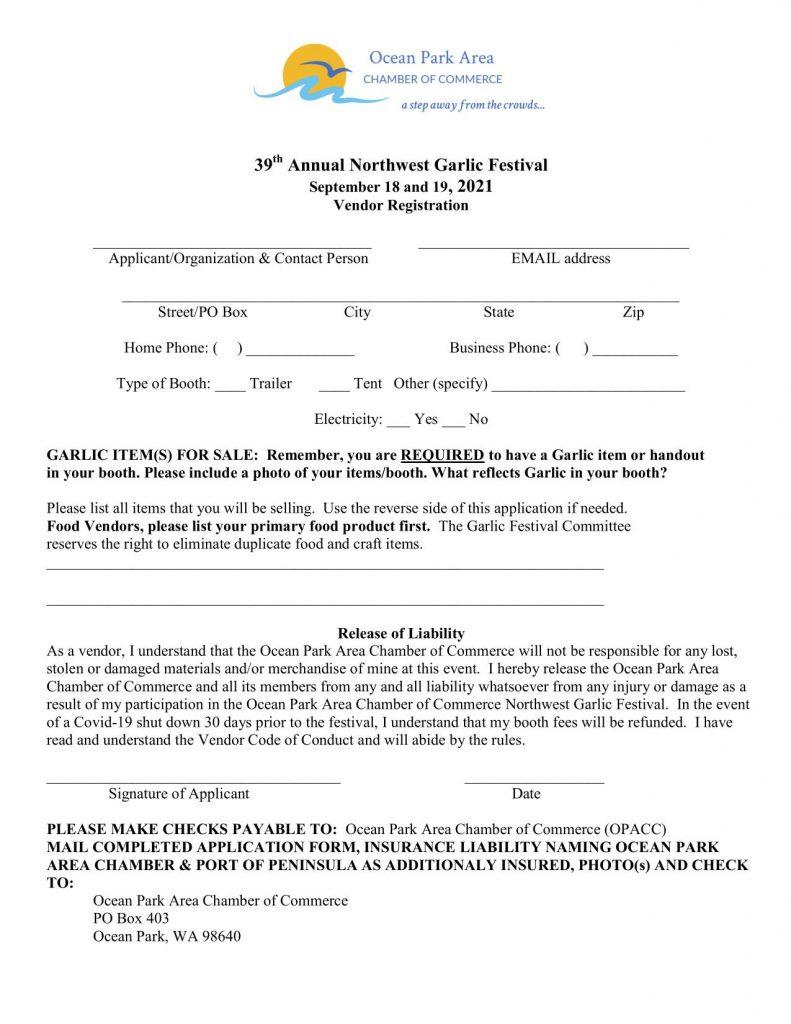 2021 GF registration page