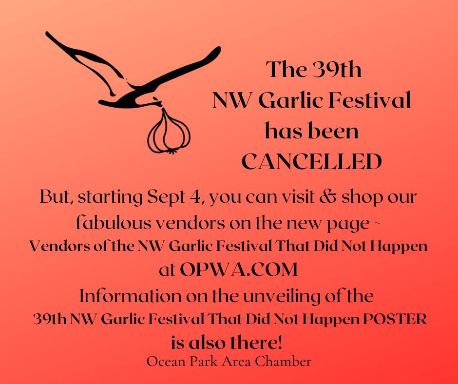garlic festival cancelled