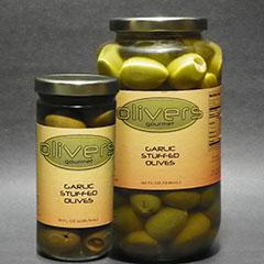 olivers gourmet olives-garlic-stuffed