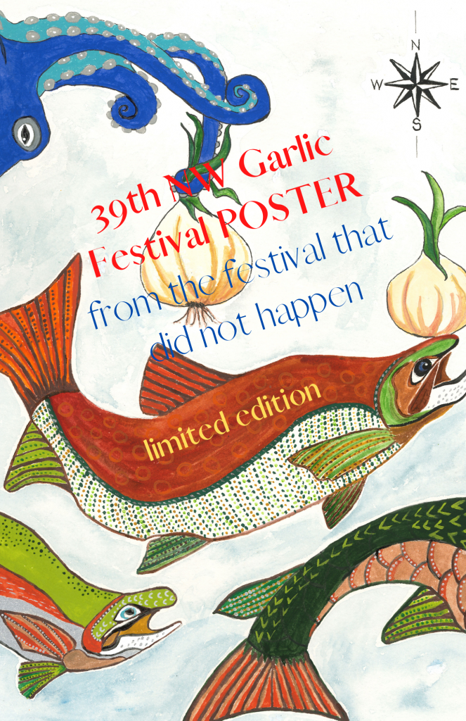 39th NW Garlic festival POSTER text